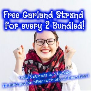Free Garland Strand ❤️🔥Bundle With 2 Other Items